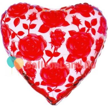 Шар-сердце 'Розы'