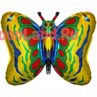 Фигурный шар 'Бабочка золотая'
