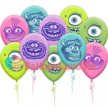 Воздушные шары Университет монстров