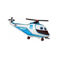 Фигурный шар Полицейский вертолет