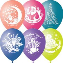 Воздушные шары С новым годом!