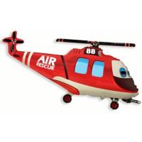 Фигурный шар Вертолет спасателей