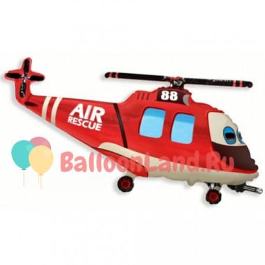 Фигурный шар 'Вертолет спасателей'