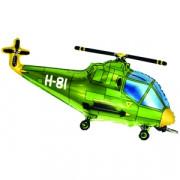 Фигурный шар Зеленый вертолет