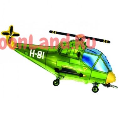 Фигурный шар 'Зеленый вертолет'